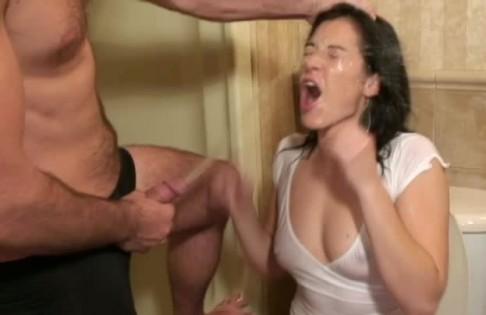 Face pissing tube